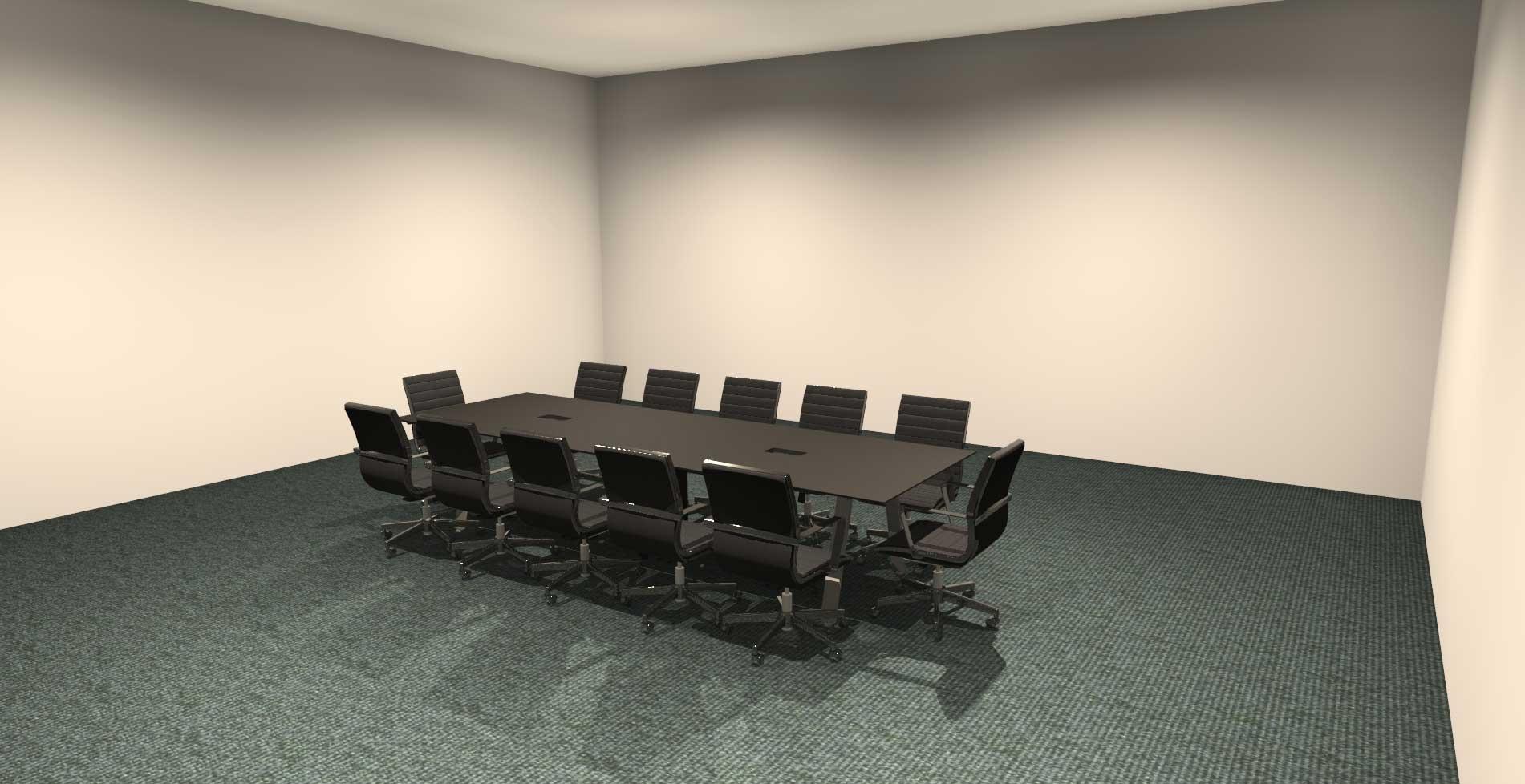 Custom 3D Office Design